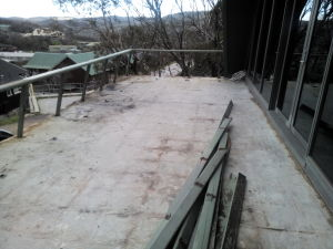 Resurfacing the Deck Nov 2014